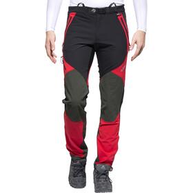 Directalpine Cascade Plus 1.0 - Pantalones Hombre - regular rojo/negro